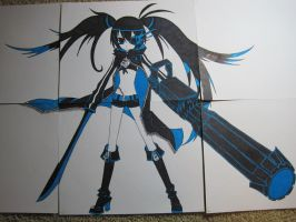 Black Rock Shooter FINISHED by mangajustice
