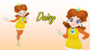 MMD Daisy by KingdomHeartsNickey