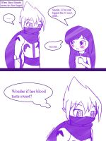 White ninja meets shy fangirl by CrystalViolet500