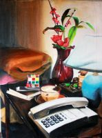 My Bedroom Still Life by ffdiaries958
