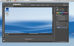 Linux Mint 14 Cinnamon running PhotoShop CS6 by ZEUSosX