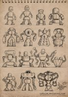 ROBOTZ Concepts 2 by radu-jm by Robot-drawing-club