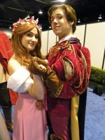 Giselle and Prince Edward D23 by Chingrish