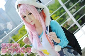Super Sonico by AcaOfficalDA