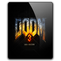 Doom 3 BFG Edition Icon by dylonji