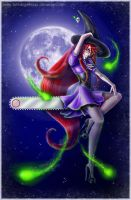 Happy Halloween Grell 2013 by fallnangeltears