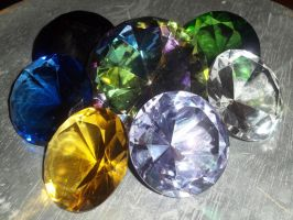 My Chaos Emeralds by Mephonix