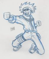 Yet anohter Naruto Sketch by KRStudio