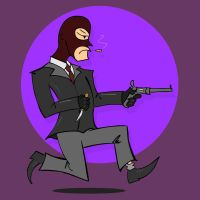 Badge: Spy, Team Fortress 2 by kkyz13