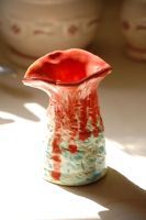 Glazed Vase by peacetree7
