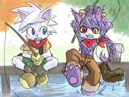 Fishing by Zero-Zand