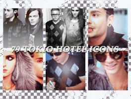 Icons: Tokio Hotel set5 by Mariesen