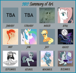 2012 Art Summary by kas92