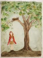 Little red riding hood by FridaSofi