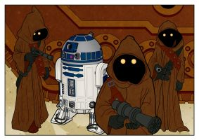 R2-D2 Attack by PaulMcInnes