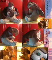 Bioshock - Songbird Plush by Pickledsuicune