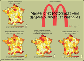 Attention aux chiffres - McDonald's by Cartoria