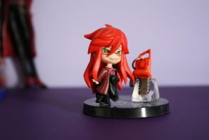 Grell Sutcliff  figure by ritalinXD