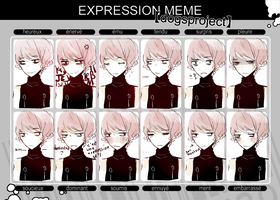 Reon expression meme by K0ii