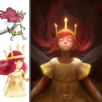 Aurora (CHILD OF LIGHT) by JoseDalisayV