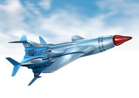 Thunderbird 1 redesign by Harnois75