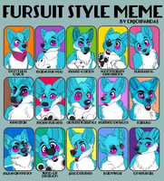 Fursuit meme by enjoiPANDAS
