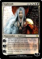 Sephiroth MTG Card by Republicelium