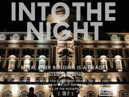 Into The Night-Cunard Building by AndrewNickson