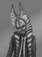 Shaak ti in a suit by Raikoh-illust