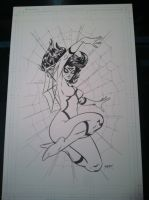 Spider-Woman commission by WestStudio3