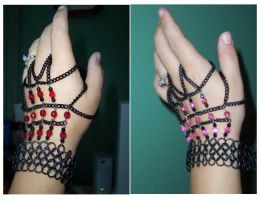 Gothic Demigloves by enchantress13