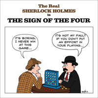 The real Sherlock Holmes - The sign of the four by marcobrunez