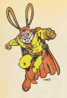 C is for Captain Carrot by sdowner