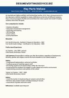 Special Education Teacher Resume Sample by resume-writing