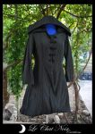 Black Taffetas Elf Jacket_I by LeChatNoirCreations