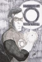Bruce Campbell as Green Lanter by BaldPat