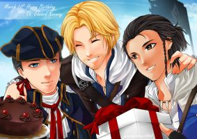 AC : HBD Edward Kenway ! by PrinceOfRedroses