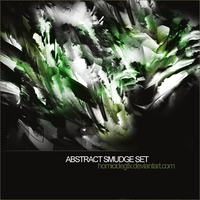 Abstract Smudge Brush Set by HomicideGFX