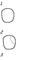 Tutorial: how to draw my eye style by Babedoge