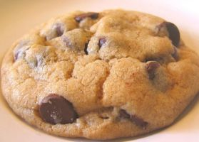 Chocolate Chip Cookie by redglassfire
