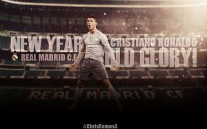 Cristiano Ronaldo Wallpaper 2015-16 by ChrisRamos4