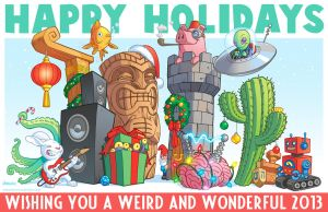 Happy Holidays 2012 by D-MAC