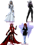 The Ladies of Nephanor's Renders - Part 2 by Nephanor