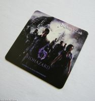 Resident Evil Collection : Capcom Bar Coaster by BirkinsLab