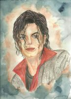 This Is It MJ painting by mjdrawings