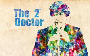 2nd Doctor: Watercolor by ElijahVD