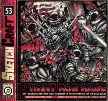 SketchCraft Podcast 053 - TMNT Rob Rage by RobDuenas