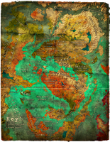 Tharak: Map of the East by Angiebeast