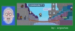 Community Video Game Banner by argantes