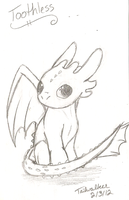 Chibi Toothless by Tailwalker